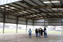 Greg Oden at basketball court in New Orleans to be refurbished 4.jpg