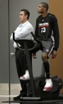 James Jones on the workout bike.JPG