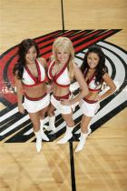 3 smiling Blazer Dancers
