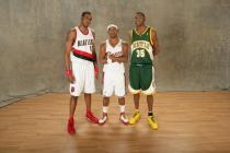 LaMarcus Aldrige poses with Daniel Gibson and Kevin Durant  during All Star Game 2008 festivities.jpg