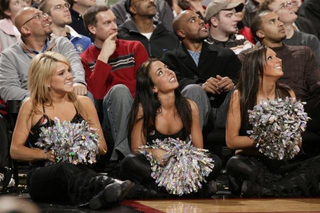 Three Blazer Dancers look on.jpg