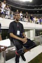 LaMarcus Aldridge watches a soccer practice for Chelsea FC.jpg
