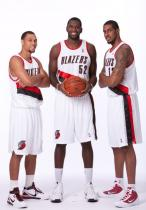 Brandon Roy Greg Oden and Lamarcus Aldridge team photo.JPG