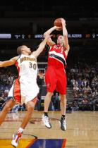 Steve Blake pull up jumper against Stephen Curry.JPG
