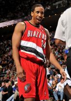 Andre Miller says come on.JPG