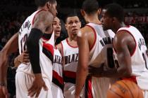 Blazers teammates Aldridge Bayless Roy Howard and Webster.JPG