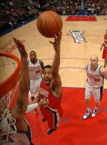 Andre Miller lays the ball up inside vs the Clippers.JPG