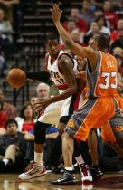 LaMarcus Aldridge works against the Phoenix double team.JPG