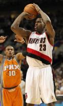 Martell Webster elevates to shoot a jumper as Barbosa tries to defend.JPG